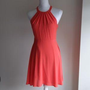 Express Coral Pink Dress Size 4